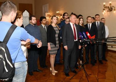 Геннадий Зюганов: Мы продолжим выборную кампанию!