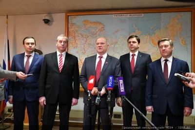 Геннадий Зюганов: У нас есть опыт и конкретные результаты работы