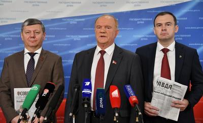 Геннадий Зюганов: Сегодня правда важнее хлеба!