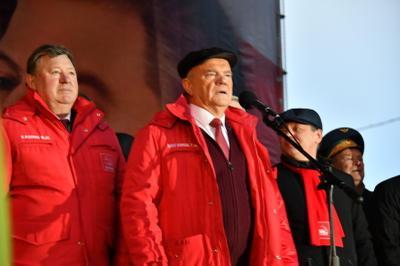 Геннадий Зюганов: Продолжить дело Великого Октября!