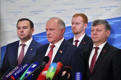 Геннадий Зюганов: Правительство Медведева полностью проваливает основные установки президентского Послания