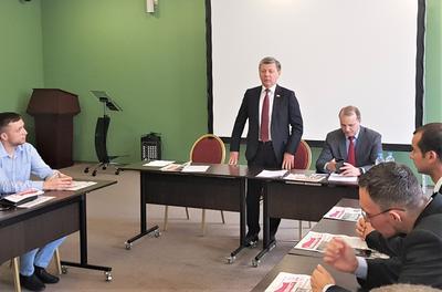 Дмитрий Новиков открыл обучение 34-го потока слушателей в Центре политической учебы ЦК КПРФ
