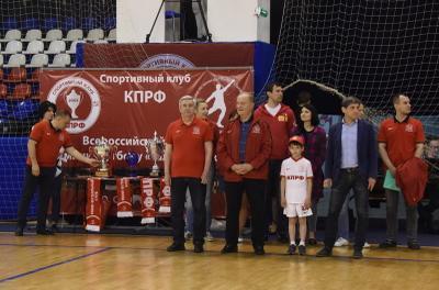В турнире по мини-футболу на призы Спортивного клуба КПРФ победила команда Вологды