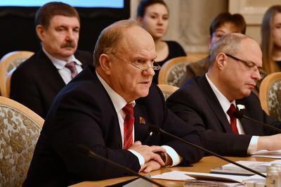 Геннадий Зюганов: Обеспечить права человека нельзя без решения социально-экономических проблем страны