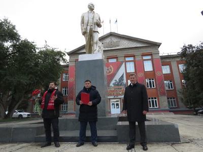В Новосибирске открыт обновленный памятник Ленину