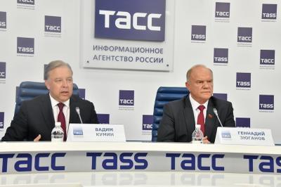 Геннадий Зюганов: План Кумина заслуживает особого внимания и полной поддержки