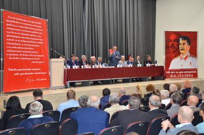 140-летие со Дня рождения Сталина отмечали по всей России