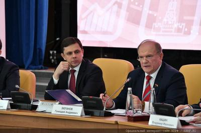 Геннадий Зюганов: Наша конструктивная линия позволит стране выбраться из тяжелого кризиса