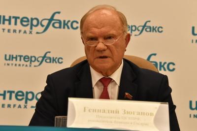 Геннадий Зюганов: Нашим депутатам исключительно важно показать пример созидательной работы!