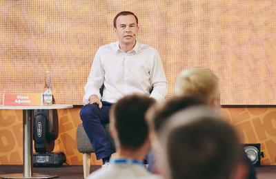 Юрий Афонин рассказал участникам «Территории смыслов» о социалистическом будущем России