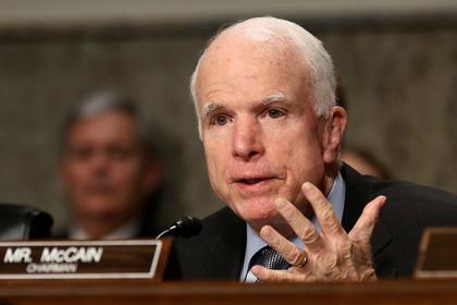 Маккейн признал Россию крупнейшим игроком на Ближнем Востоке