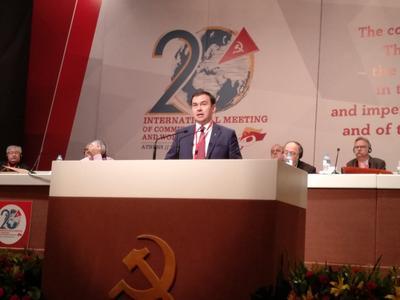 Юрий Афонин призвал коммунистические и рабочие партии осудить судебную расправу над Владимиром Бессоновым