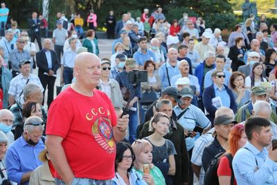В Ульяновске прошел мощный митинг в поддержку кандидатов КПРФ