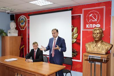 Юрий Афонин: На предстоящих выборах наша задача – не участие, а победа!