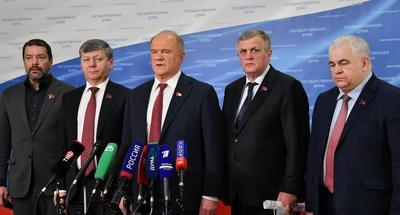 Геннадий Зюганов: У наших депутатов и партийных организаций чиста совесть перед страной