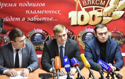 Валентин Коновалов и Юрий Афонин провели пресс-конференцию по итогам голосования на выборах главы Хакасии
