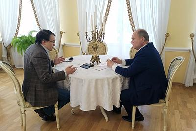 Интервью Геннадия Зюганова бизнес-порталу «Континент Сибирь Online»