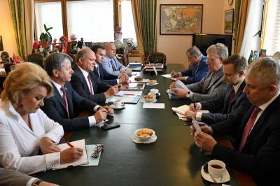 Геннадий Зюганов: Счетной палате необходимо усилить контроль за выполнением национальных проектов
