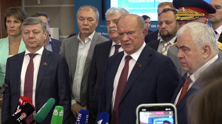 Брифинг по итогам утверждения избирательных списков КПРФ (24.07.2021)