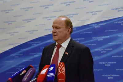 На встрече с Путиным Геннадий Зюганов потребовал «максимально расследовать» ситуацию вокруг Андрея Левченко