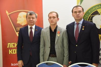 Дмитрий Новиков: Каждый молодой коммунист должен освоить марксистско-ленинскую теорию
