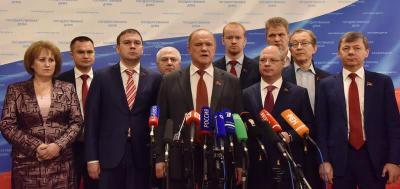 Геннадий Зюганов: Несмотря на правильные речи, олигархическая политика с криминальным уклоном продолжается