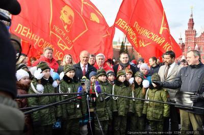 Геннадий Зюганов: Комсомол – наша общая судьба!