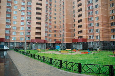 Благоустройство территории жилого многоквартирного дома