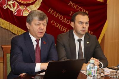 Юрий Афонин и Дмитрий Новиков обсудили поправки в Конституцию РФ с представителями региональных отделений партии