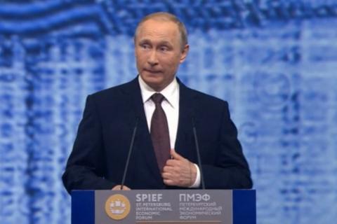 Путин призвал восстановить отношения с ЕС
