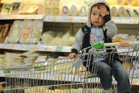 Более 60 процентов россиян тратят на продукты около половины своего ежемесячного дохода