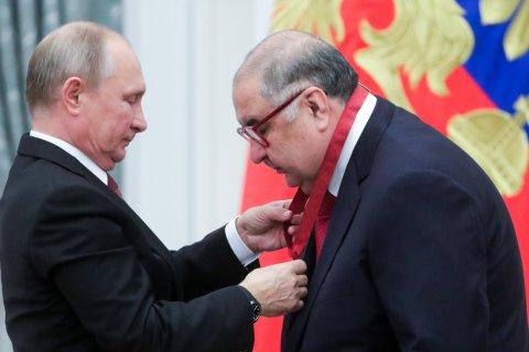 «Ощущение чуда». Олигарх Усманов получил пятый орден из рук Путина