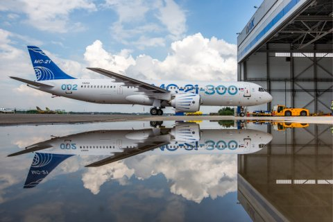 Из-за санкций на разработку авиалайнера МС-21 потребуются дополнительно сотни миллиардов рублей