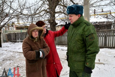Украинские силовики за сутки более ста раз обстреляли территорию ДНР