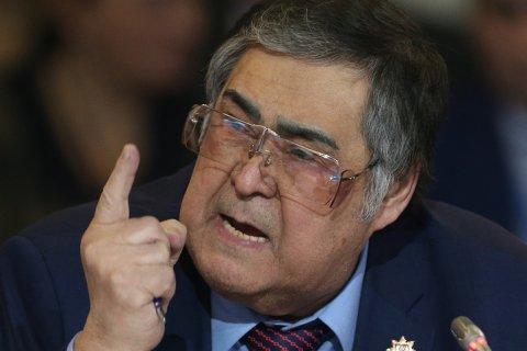 Тулеев попросил прощения за пожар… у Путина