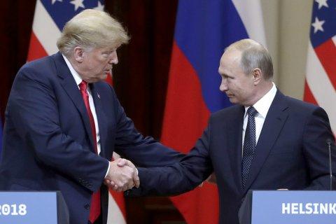 Трамп обвинил СМИ в намерении очернить успешную встречу с Путиным