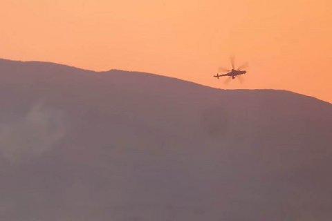 В Сирии сбит третий российский вертолет. Видео