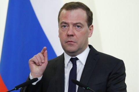 Медведев пообещал господдержку фигурантам новых санкций США
