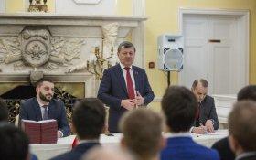 Дмитрий Новиков вручил дипломы слушателям 39-го потока Центра политической учебы ЦК КПРФ