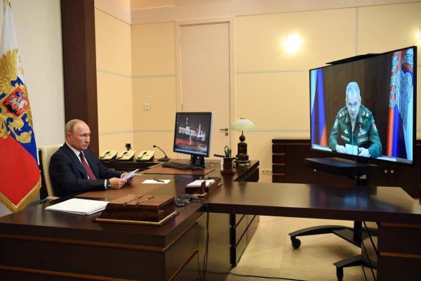 Путин объявил о пройденном пике эпидемии коронавируса и параде Победы