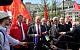 В день 200-летнего юбилея Карла Маркса коммунисты возложили цветы к его памятнику