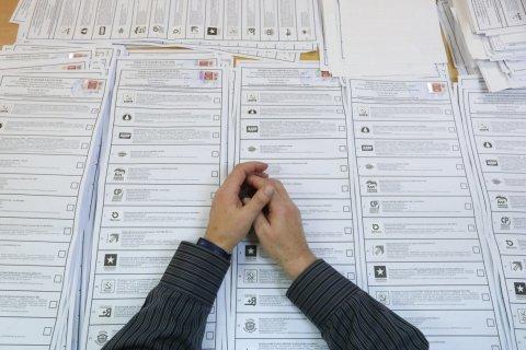 В ЦИК подсчитали 75% бюллетеней на выборах в Госдуму