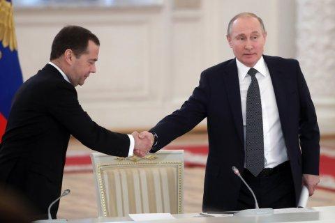 Путин может оставить Медведева премьер-министром, если ему хочется