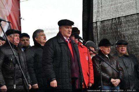 Геннадий Зюганов: Нельзя отсидеться в эту ответственную минуту