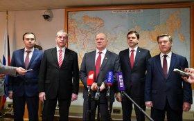 КПРФ поддержала выдвижение на вторые сроки мэра Новосибирска Локтя и иркутского губернатора Левченко