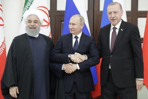 В Сочи Президенты России, Турции и Ирана решили не делить Сирию