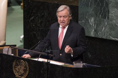 Генсек ООН объявил о начале новой холодной войны