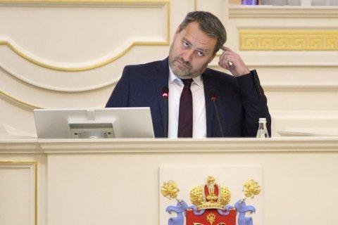 Памфилова пожаловалась в прокуратуру на нового спикера парламента Петербурга