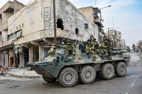 Двое российских военных погибли в Сирии