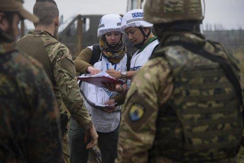 За время «школьного перемирия» в Донбассе ОБСЕ зафиксировало более 600 нарушений